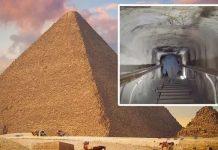 Bí ẩn Ai Cập: Cánh cửa kỳ lạ được tìm thấy bên trong Kim tự tháp