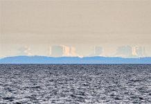 Ảo ảnh thành phố trên biển là một hiện tượng thiên nhiên làm sửng sốt người xem