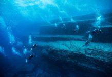 Bồ Đào Nha cử quân đội xuống nghiên cứu kim tự tháp bị chìm dưới đáy biển (ảnh: Daily Star)