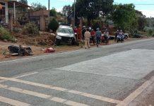 Đak Đoa: Tai nạn liên hoàn khiến 2 người bị thương