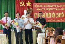 Ông Ksor Vinh được bầu giữ chức Chủ tịch HĐND thị xã Ayun Pa