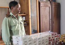 Cục Quản lý Thị trường tỉnh Gia Lai tịch thu 1.250 bao thuốc lá điếu nhập lậu