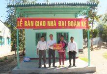 Chư Păh: Bàn giao 3 căn nhà cho hộ nghèo