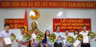 Ia Grai: Trao quyết định bổ nhiệm 7 cán bộ quản lý cấp phòng