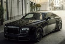 Ngắm siêu xe Rolls-Royce Wraith Black Badge với gói nâng cấp Spofec Overdose