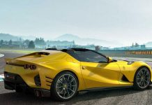 'Soi' siêu xe mui trần Ferrari 812 Competizione A: Công suất 830 mã lực, vận tốc 340 km/h