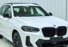 BMW X3 2022 lộ diện với ngoại thất ấn tượng hơn