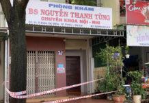Liên quan dịch tễ với 1 ca F0, phòng khám của bác sĩ Tùng- đường Đoàn Thị Điểm, phường Diên Hồng, TP.Pleiku phải khoanh vùng tạm thời để phòng-chống dịch.
