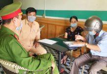 Lực lượng chức năng đã lập biên bản vi phạm đối với chủ quán cà phê 41 Trường Chinh