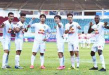 Hoàng Anh Gia Lai là một trong những đội bóng chịu thiệt thòi nhất nếu V.League 2021 không thể tiếp tục. Ảnh: Lê Văn Ngọc