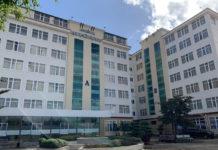 Bệnh viện dã chiến hoạt động trở lại vào tối ngày 31-7, có quy mô trước mắt 100 giường bệnh. Ảnh: Như Nguyện