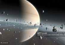Sao Thổ. Ảnh: AFP