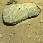 Perseverance thu được mẫu vật đầu tiên trên sao Hỏa. Nguồn: earthsky