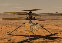 Trực thăng Ingenuity của NASA. Ảnh: NASA