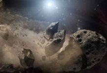 Có vô số tiểu hành tinh trong vũ trụ nhưng phần lớn đều không đáng lo ngại. Ảnh: NASA